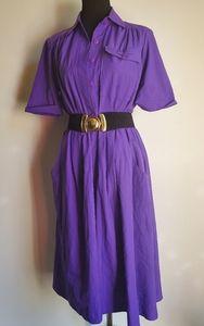 Classic Puple Darian Dress